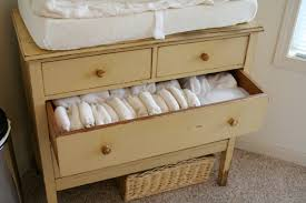 antique changing table