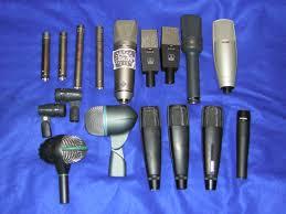 fotos de microfonos