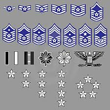 airforce rank insignia