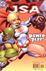 power girl cartoon