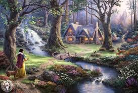 disney snow white cottage