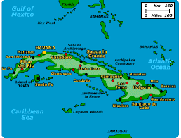 map of cuba varadero
