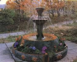 fuentes de jardin