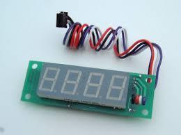 4 digit display