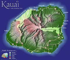 map of kauai