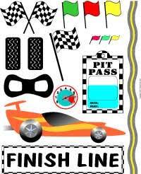 race car borders