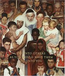 norman rockwell do unto others