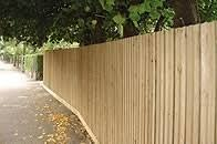 feather board fencing