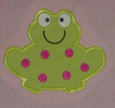 applique embroidery design