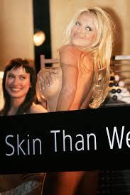 pamela anderson skin