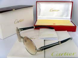cartier buffalo glasses
