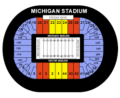 michigan stadium seating chart