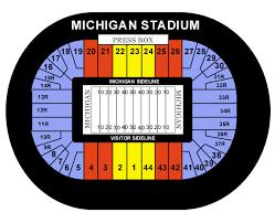 michigan stadium seating