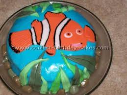 nemo cake decorating