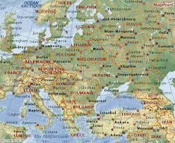 carte europe de l est