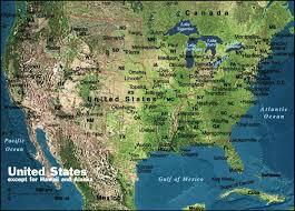map of us landforms