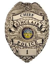 police chief badge