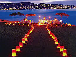 beach weddings decorations
