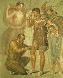 pompeian wall painting