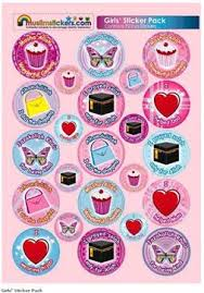 girls stickers