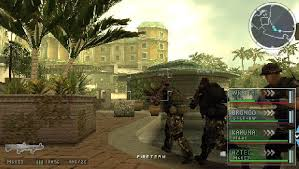 socom tactical strike psp