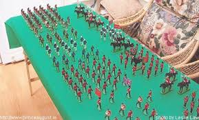 toy soldier army