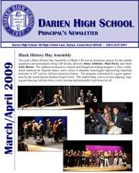 high school newsletter