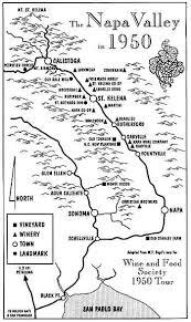 napa vineyard map