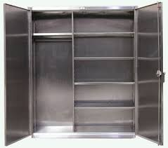 steel wardrobe