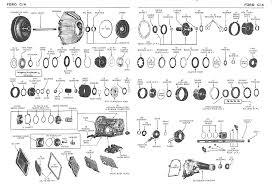 ford aod transmission diagram