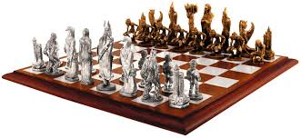 lotr chess pieces