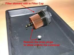 oil filter cap