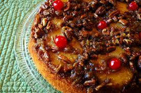 picture of pineapple upside down cake