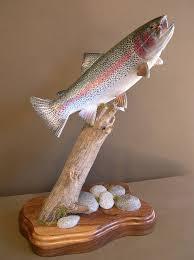 fish wood carving