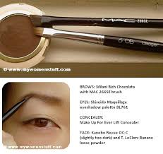 mac eye brow