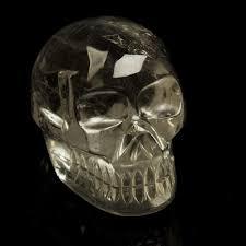 quartz crystal skulls