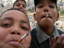 kids smoking pictures