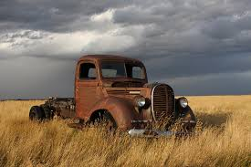 old rusty trucks