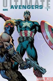 ultimate avengers comics