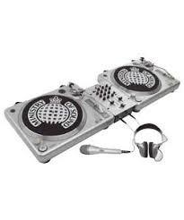 dj mixing deck