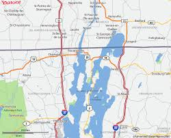 lake champlain maps