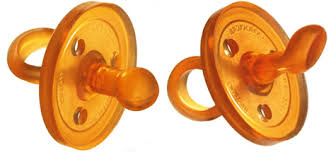 rubber pacifiers