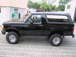 1997 ford bronco