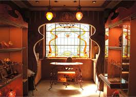 art nouveau interior design