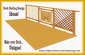 deck railings designs