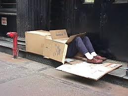 livin in a cardboard box