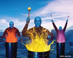 blue man group cover