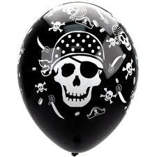 pirate birthday plates
