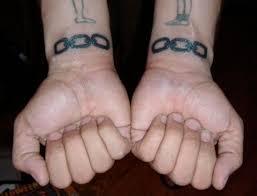 chains tattoo