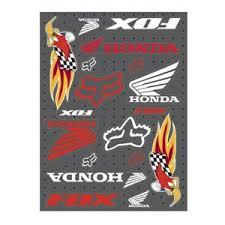 honda racing sticker